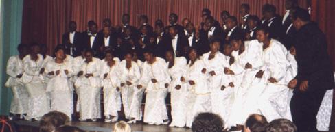 """In Port Elisabeth: """"Joy of Africa"""" unter der Leitung von Hector Makaya Mjana"""