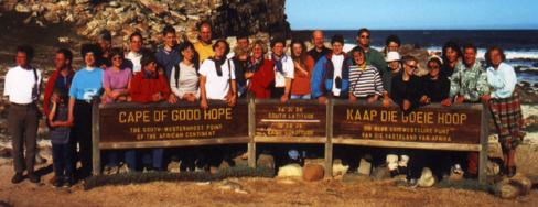 Die Südmährische Sing- und Spielschar am Kap der guten Hoffnung